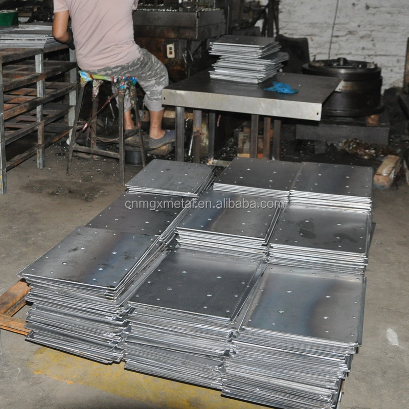 Custom made high quality steel agricultural machine base plate