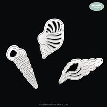 Wholesale Conch Custom Metal Die Cut Scrapbook