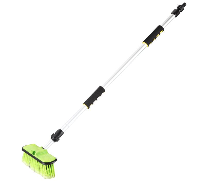 Water Flow Car Cleaning Rotary Brush