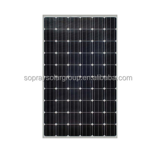 Sopray Solar Hot Seller High Efficiency A Grade Mono 250W 255W 260W 270w Solar Panel and Batteries with Inmetro Certification