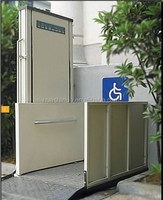 out door home used vertical wheelchair lift for older or disabled