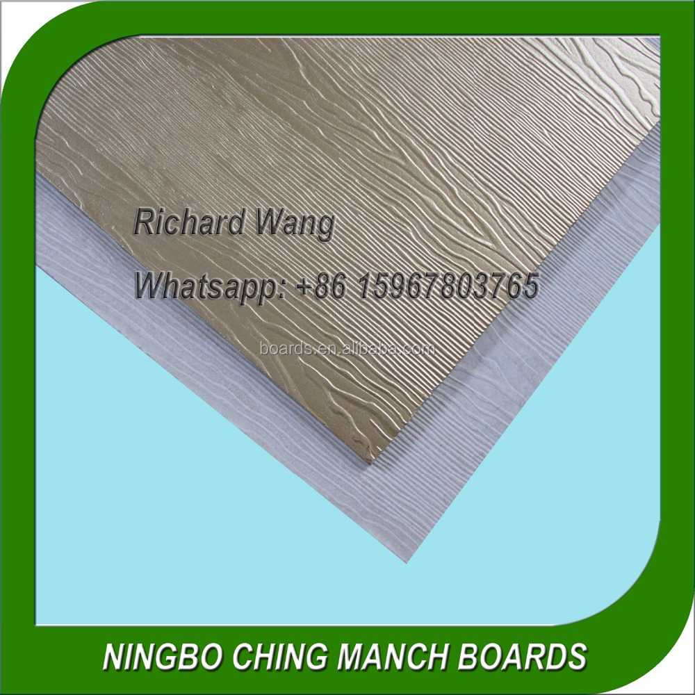 Wood Grain Wall Siding Panel Facade
