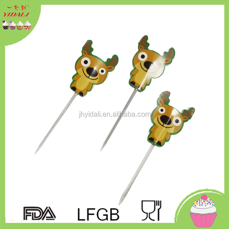 Wholesale Cheap Paper Toothpick Cake Topper