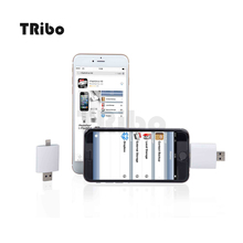 2016 high quality stable otg usb flash drive for iphone with our own APP