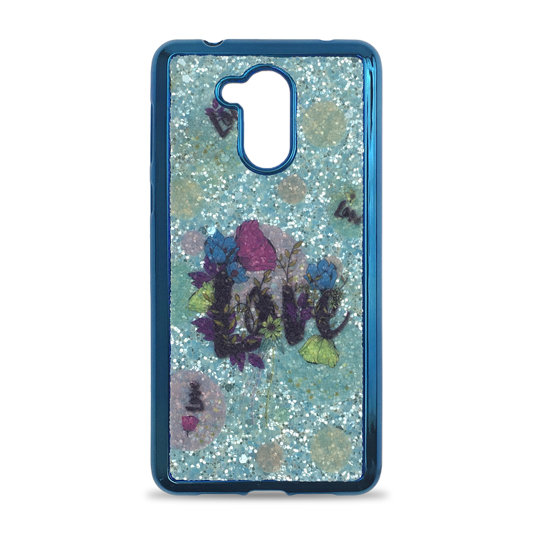 Women Glitter TPU Mobile Phone Bling Bling Cases sublimation phone case for HUAWEI P9 Lite Smart Back Cover
