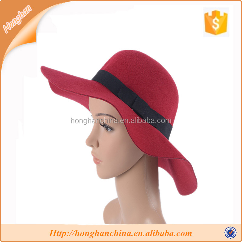 Beautiful ladies dress women floppy hat