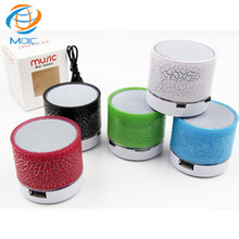 2017 New In LED BT Speaker With 3D Stereo Surround Sound Night Light FM Radio And Voice Prompt TF Card Slot