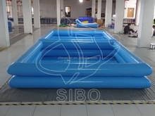 GMIF-7316A kids park commercial used swimming pool with slide for inflatable pool