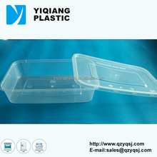 Disposable rectangular food pack for restaurant with Phthalates and lead test