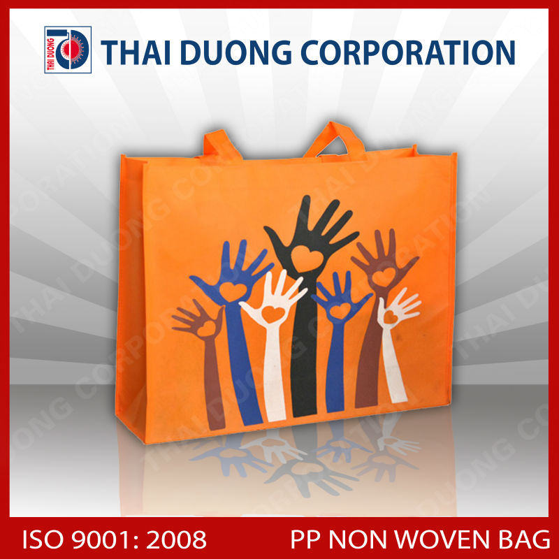 2014 PP non Woven laminated shopping bag made in Vietnam export worldwide