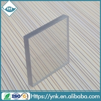 Safe window fence 2mm polycarbonate solid sheet for soundproofing for sky sign for outdoor billboard