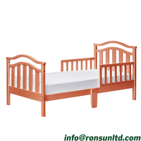 Hot Sale Cheap Toddler Bed without Mattress for Girls