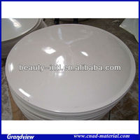 white acrylic vacuum forming dome for machine