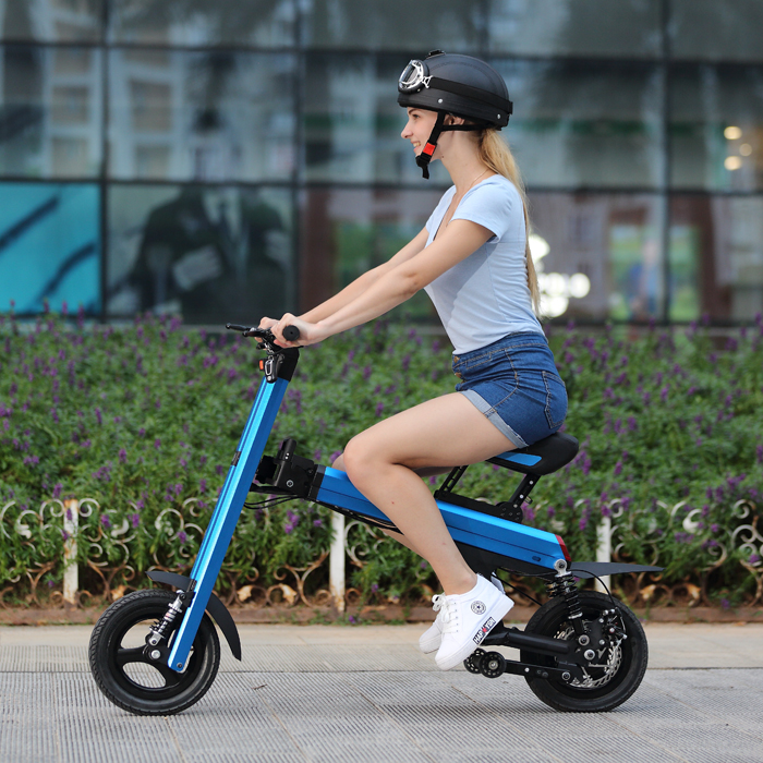folding electric bike 500w 8 fun brushless hub motor 20 inch folding electric bike