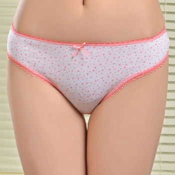Young Sexy Teen Ladies Brief Preteen Women Underwear Breathable Cotton Women's Panties