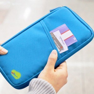 New Brand Portable Travel Passport Credit ID Card Cash Organizer Holder Wallet HandBag Storage Pouch pocket travelus Folder