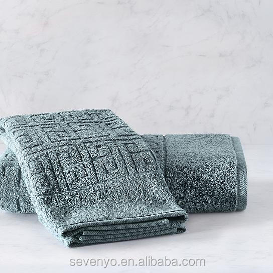 Turkish Cotton Greek key bath towel Customizable logo Ht-085 China manufacturer
