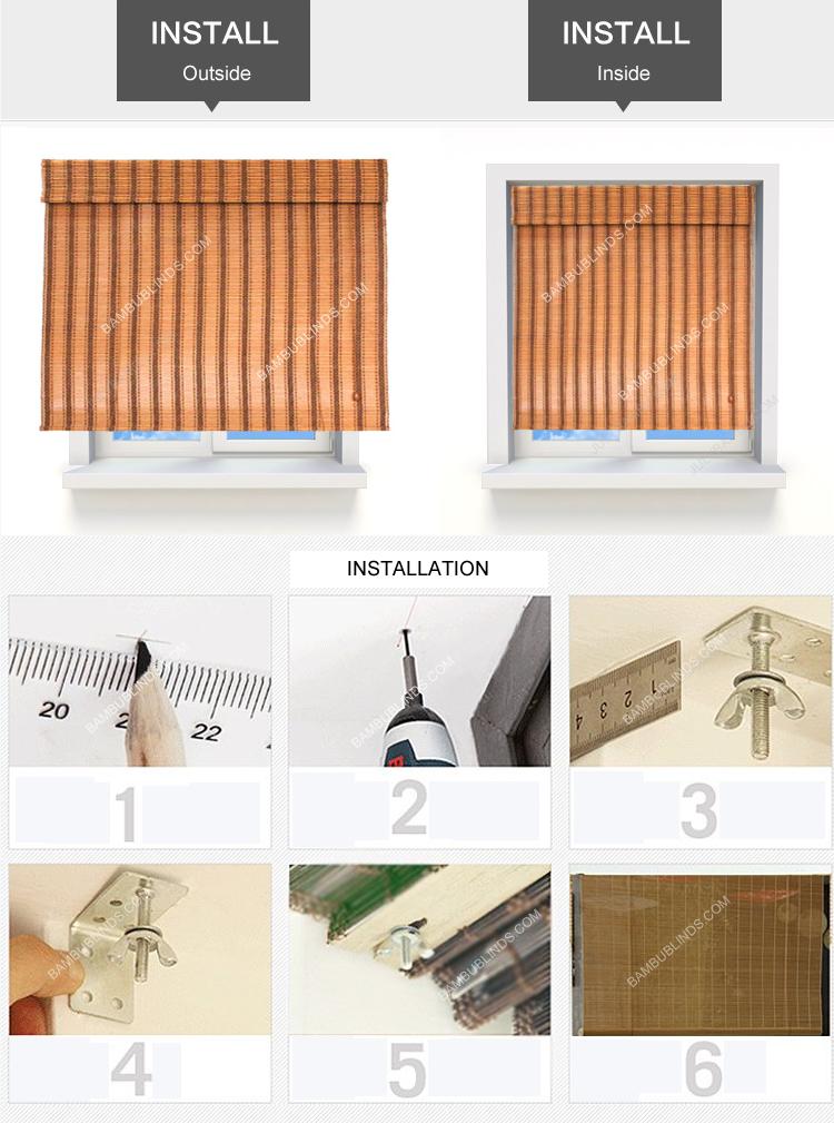 басбуковые рулонные жалюзи инструкция