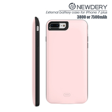 Built-in li-polymer battery FOR iphone 7 PLUS Power CASE 5.5 inch for iphone 7 plus ultra thin battery charger for iphone 7plus
