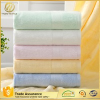 China supplier Easy to wash thick and big hotel bamboo fiber bath towel