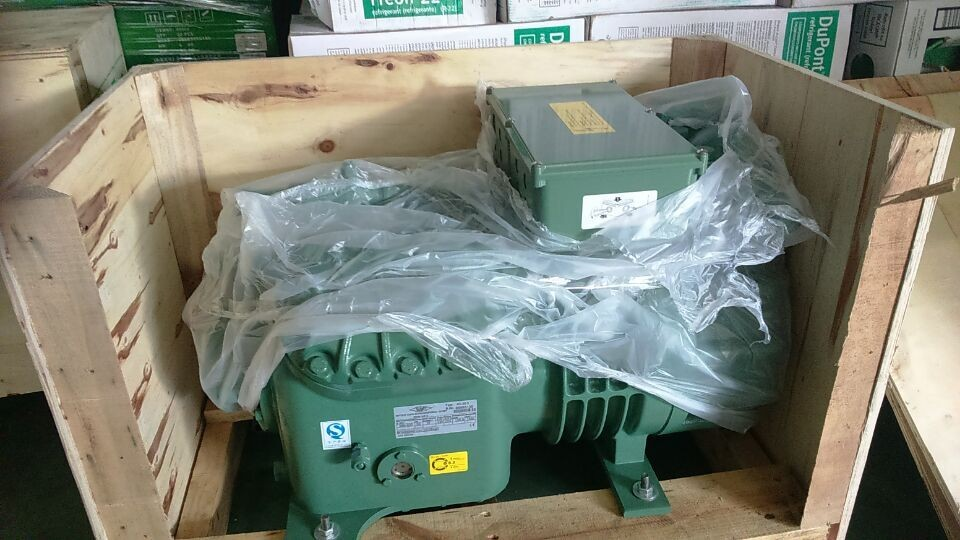 Bitzer Semi hermetic Compressor 2DC-2.2 used for Condensing unit in Cold Room