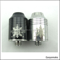 china 2014 new rab tank Nimbus,trident,omega,helis,patriot Atomizer Clone wholesale best quality best price