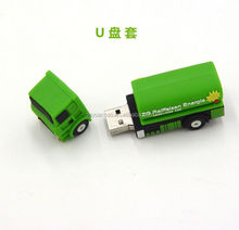 pvc car shape usb flash driver