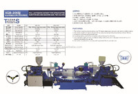 Full-Automatic Rotary Type Strap/Upper Injection Molding (single/two color)