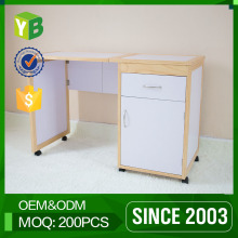 Yibang Pb Melamine Corner Table With Storage