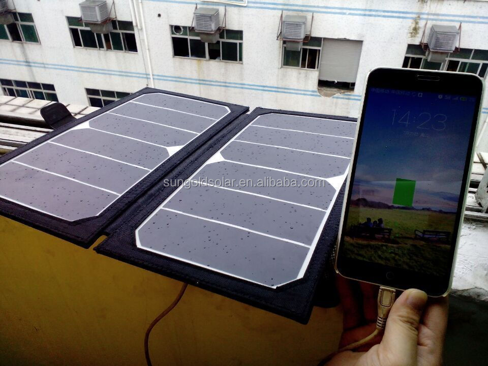 Fabric Versatile Folding Solar Panel Kit Range