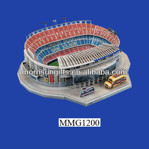 hot sale handmade custom exquisite resin 3D stadium model