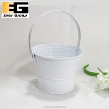 Metal flower baskets and planters/decorative metal window box planters