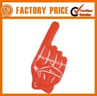PE Hot Sale Inflatable Cheer Hand