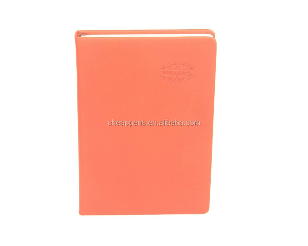 Personal Planner Diary Market Souvenir Genuine Hardcover Leather Exercise book