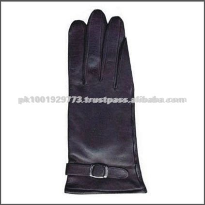 Pakistan Fashion Style Leather Dressing Gloves