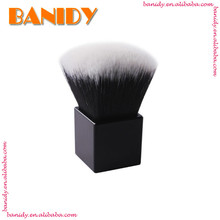 Custom Logo Foundation Kabuki Makeup Brushes Square Kabuki Brush