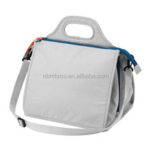 QJMAX Grey Color Hot Sale Fashionable Disposable Diaper Bag For Baby
