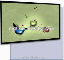 picture frame projection screen/Fixed Frame Projector Screen /Projector Screen