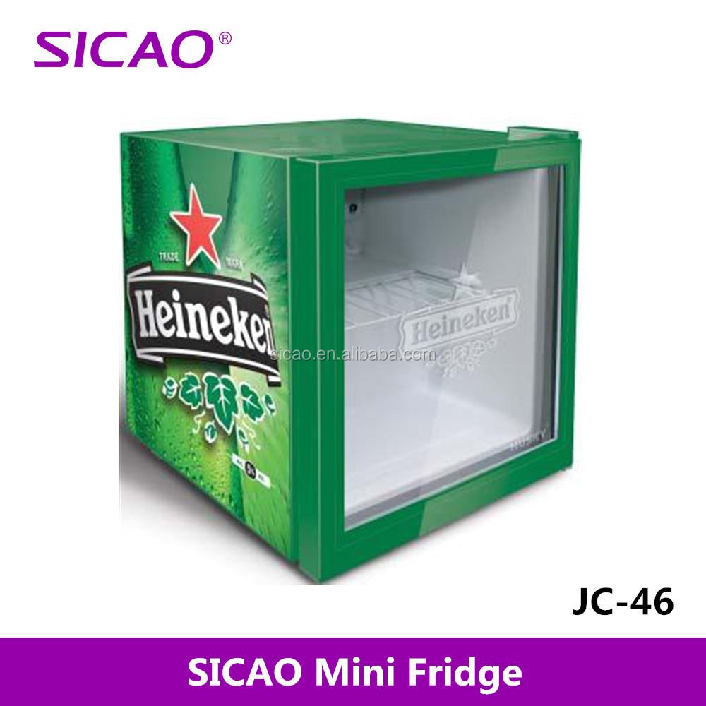 49 litros refrigerador puerta de cristal minibar hotel - Nevera para cerveza ...