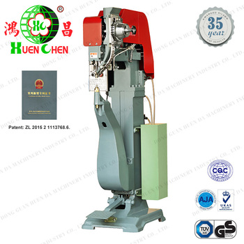 Two stroke pneumatic baby carriages riveting machine