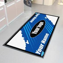 Printed Motorcycle Garage Rubber Floor Mat