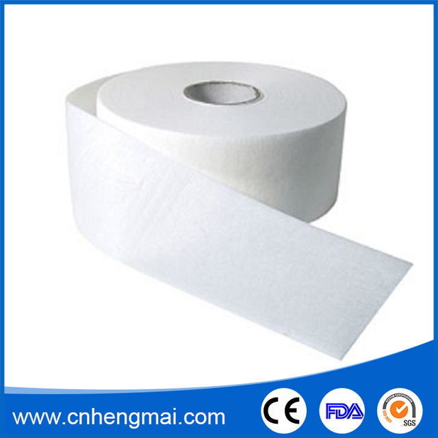 Different Size Non Woven Fabric Depilatory Strip Roll Paper Waxing Strip Roll For Arm Leg Body