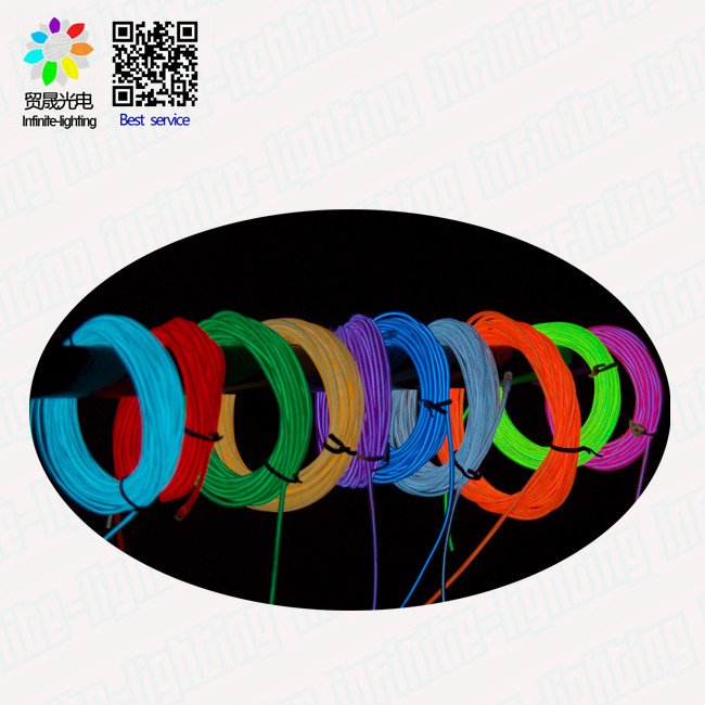 Wholesale Alibaba Light Up el wire wholesale/ Muti color EL Wire/ EL Wire Online Shopping