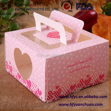 Custom Packing Bento Food Cupcake Chocolate Paper Cake Box