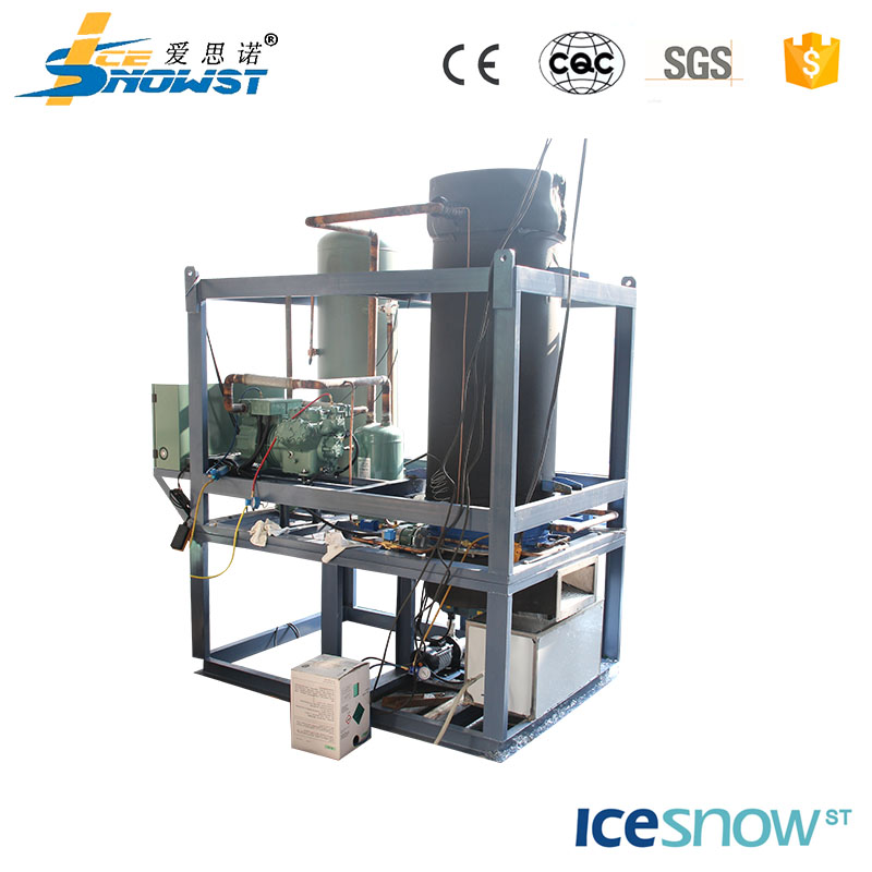 Durable short installation period tube ice making machine