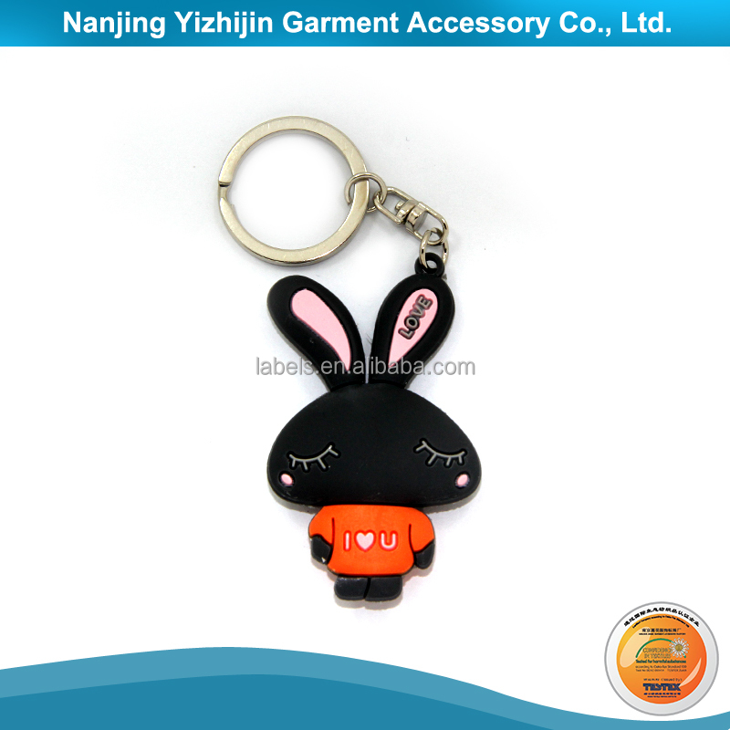 China Wholesale Custom Rectangle Blank Acrylic Key Chain
