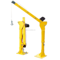 500kg mini 12v 24v electric crane hoist with cable winch