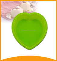 top selling products 2015 cake decoration heart shape silicone pizza pan for baking