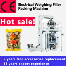 Electrical Weighing Packing Machine For Mushrooms