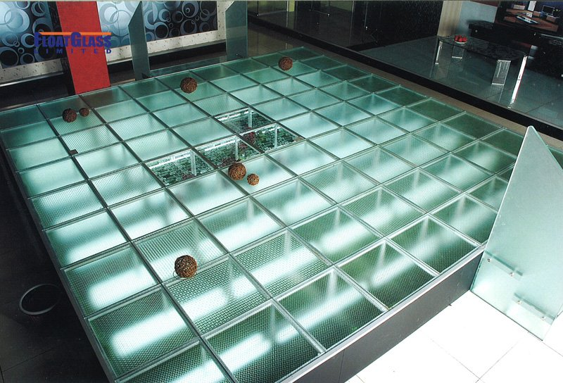 Structural Clear Tempered Laminated Glass Floor Price